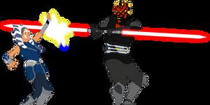 Ahsoka vs Darth Maul - The Phantom Apprentice