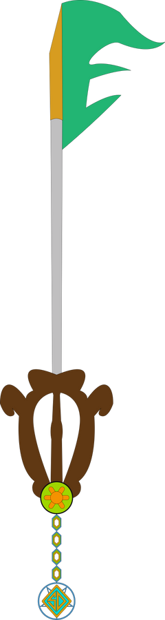 Free Will Mystery Custom Keyblade
