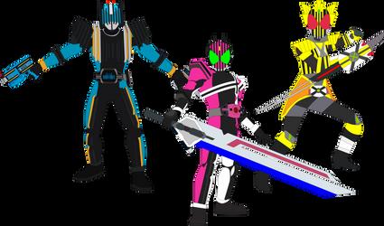The Passing-Through Kamen Riders