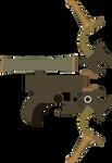 Krayt Dragon Bowgun by SuperHeroTimeFan
