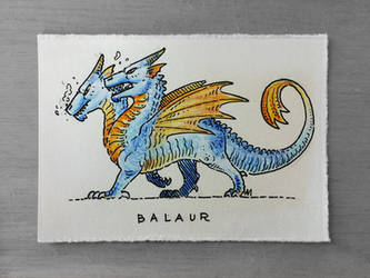Balaur by Andrewsarchus89