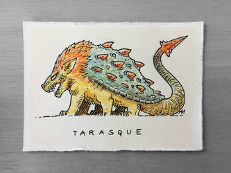 Tarasque by Andrewsarchus89