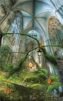 Fantasy garden by mjdaluz