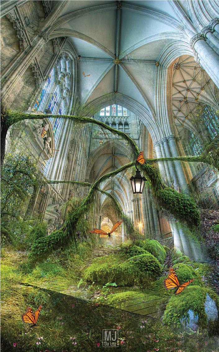 Fantasy Garden By Mjdaluz On Deviantart