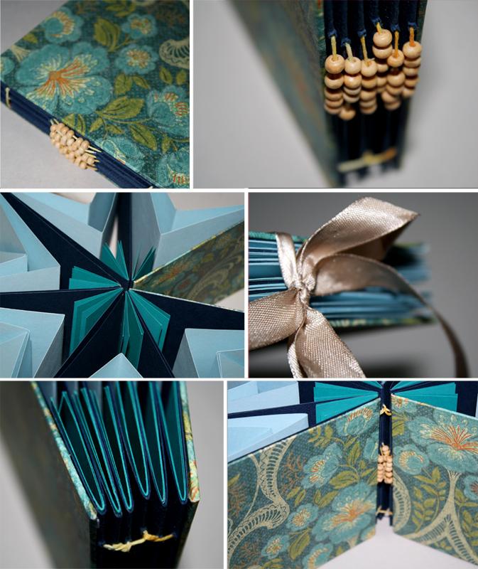 Star shape handmade journal by mjdaluz