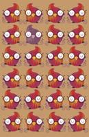 Bird pattern by mjdaluz