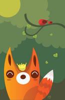 King fox by mjdaluz