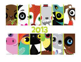 2013 Calendar by mjdaluz