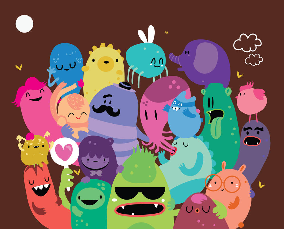 Monsters by mjdaluz