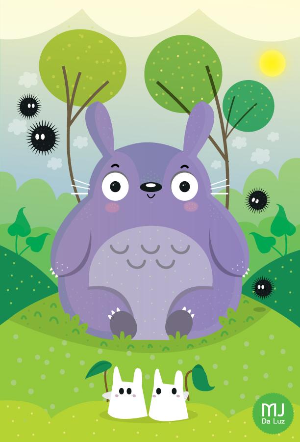 Totoro by mjdaluz