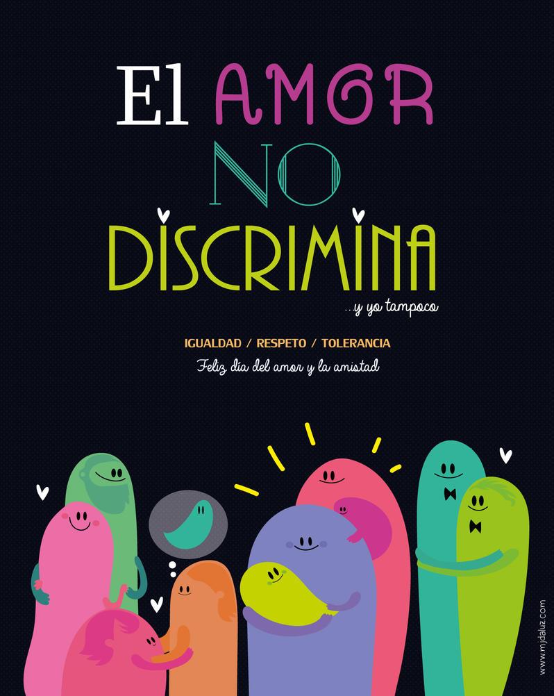 El amor no discrimina by mjdaluz