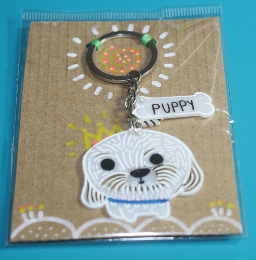 Custom pet keychain by mjdaluz
