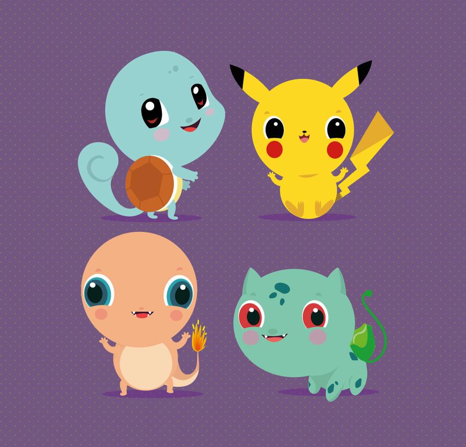 Pokemon by mjdaluz