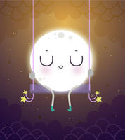Good night little moon by mjdaluz