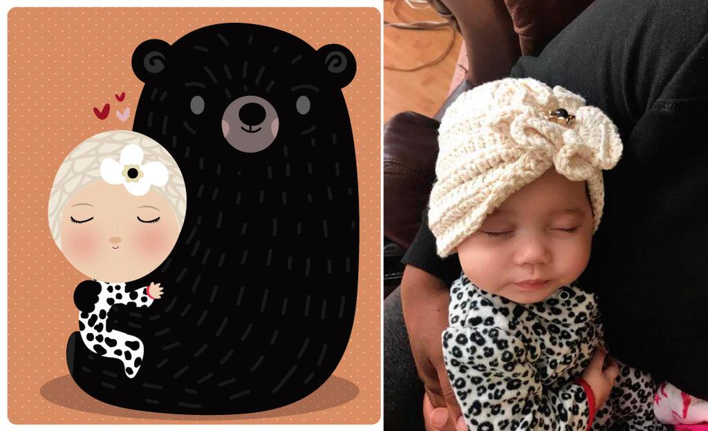 Mama bear and kid by mjdaluz