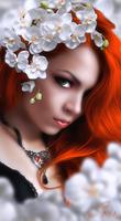 White Orchid by MademoiselleKati