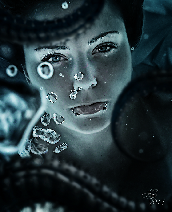 caught under water by MademoiselleKati