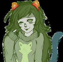 kitty sweater by xXliteXx