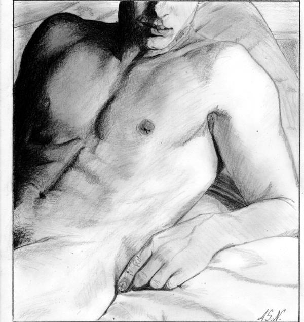 male nude by anymys-symyna