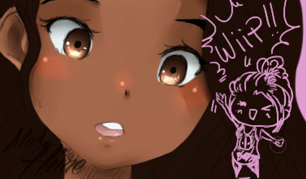 ( WIP ) Vaiana by MadxHime