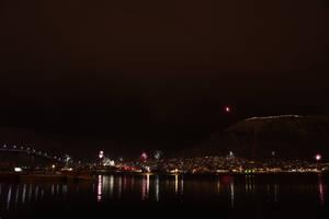 Fireworks In Tromsoe by Rwjensn