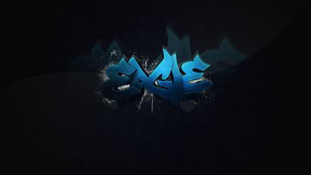 Eagle Graffiti by Krud3