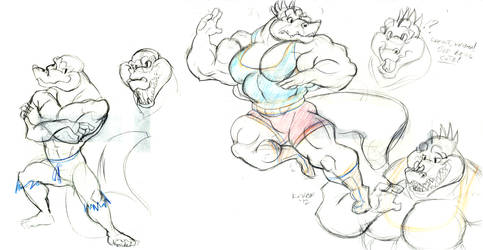Krusha n Kritter sketches