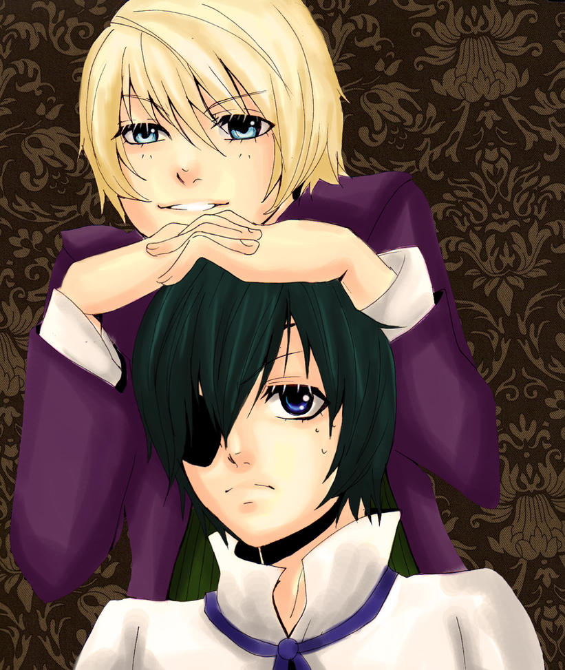 Alois and Ciel by DecemberComes