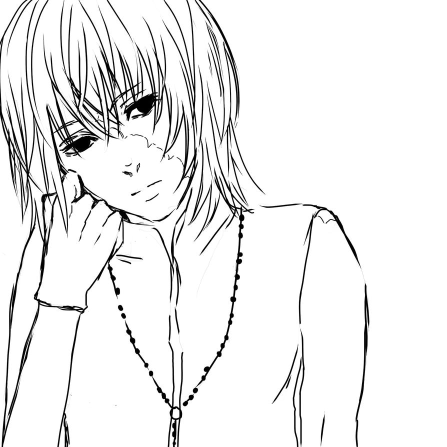 deathnote coloring pages - photo#22