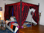 Queen bed canopy by queza7