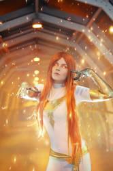 X-men- Jean Gray (White Phoenix) by ChishirCat