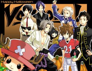 Reborn - Happy Halloween 2007 by kanae