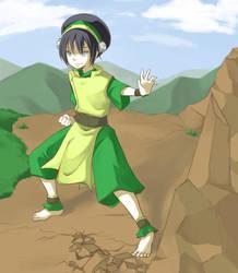 Avatar - Toph by kanae