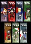 Hetalia Bookmarks