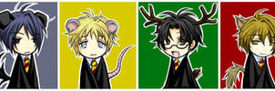 Harry Potter - Snuffles + Co. by kanae