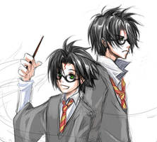 Harry Potter - 7 Years by kanae