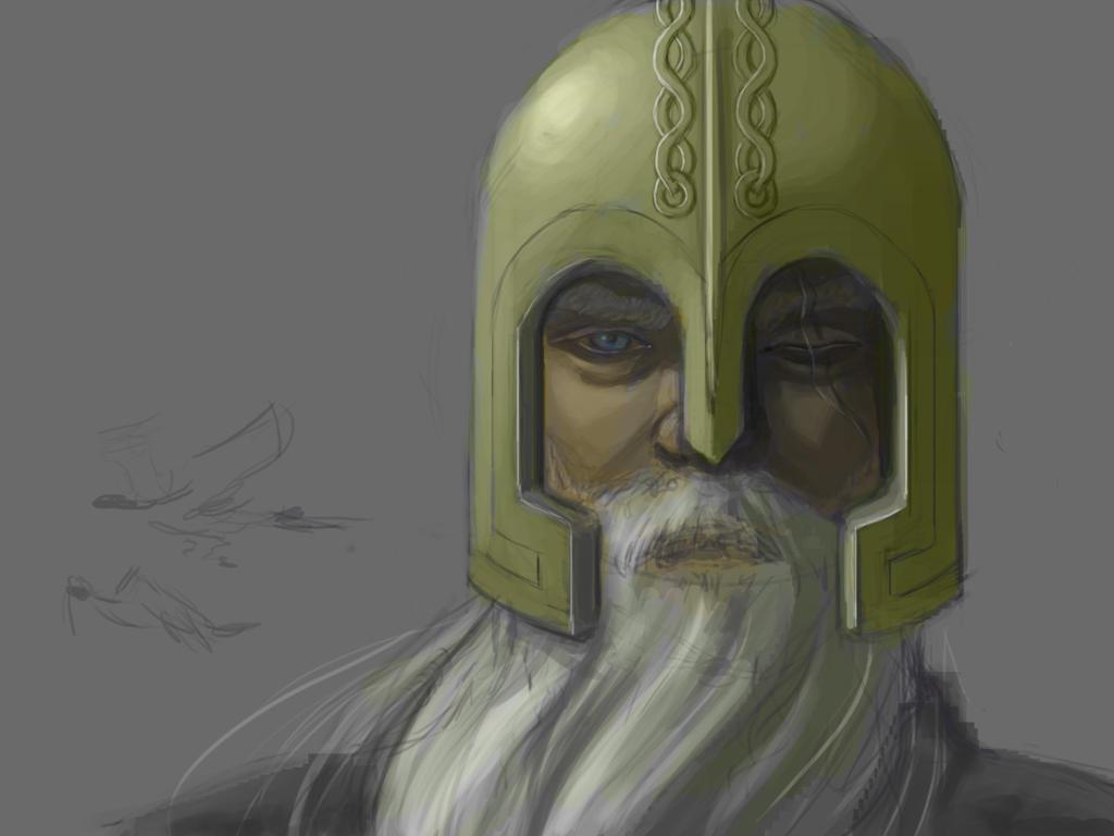 Opening scene: Odin by Artsy-Seachel