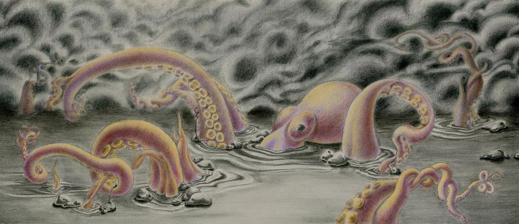 Mercury Kraken by Artsy-Seachel