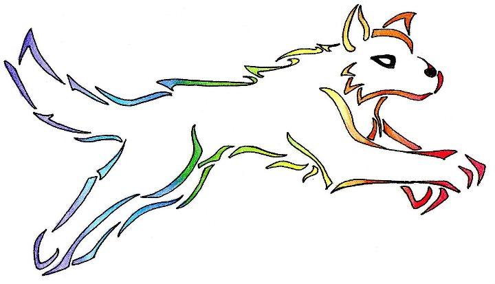 lobo tribal by ukivo on DeviantArt