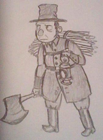 The Woodsman by rakadishu