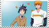 Ichigo and Senna Stamp by Camtrtl