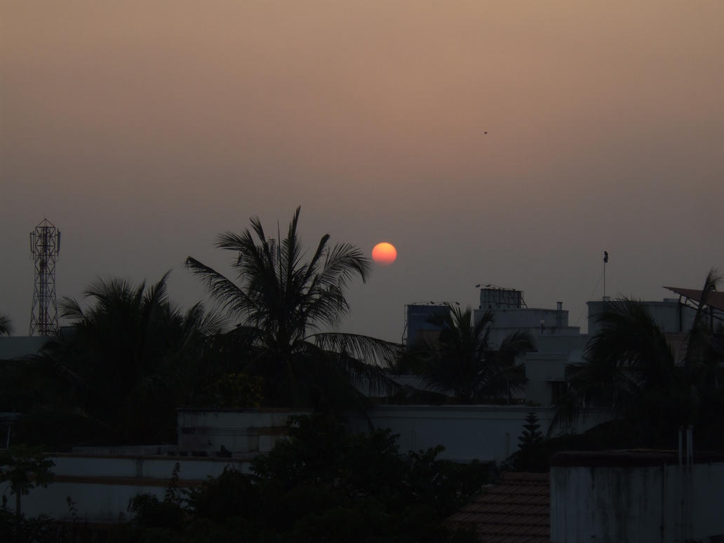 Indian Sunset by James-Steele
