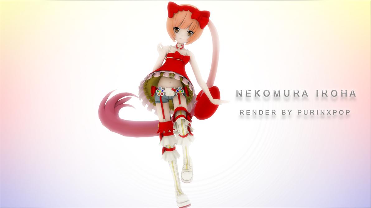 Nekomura Iroha Vidro Render by PurinxPop