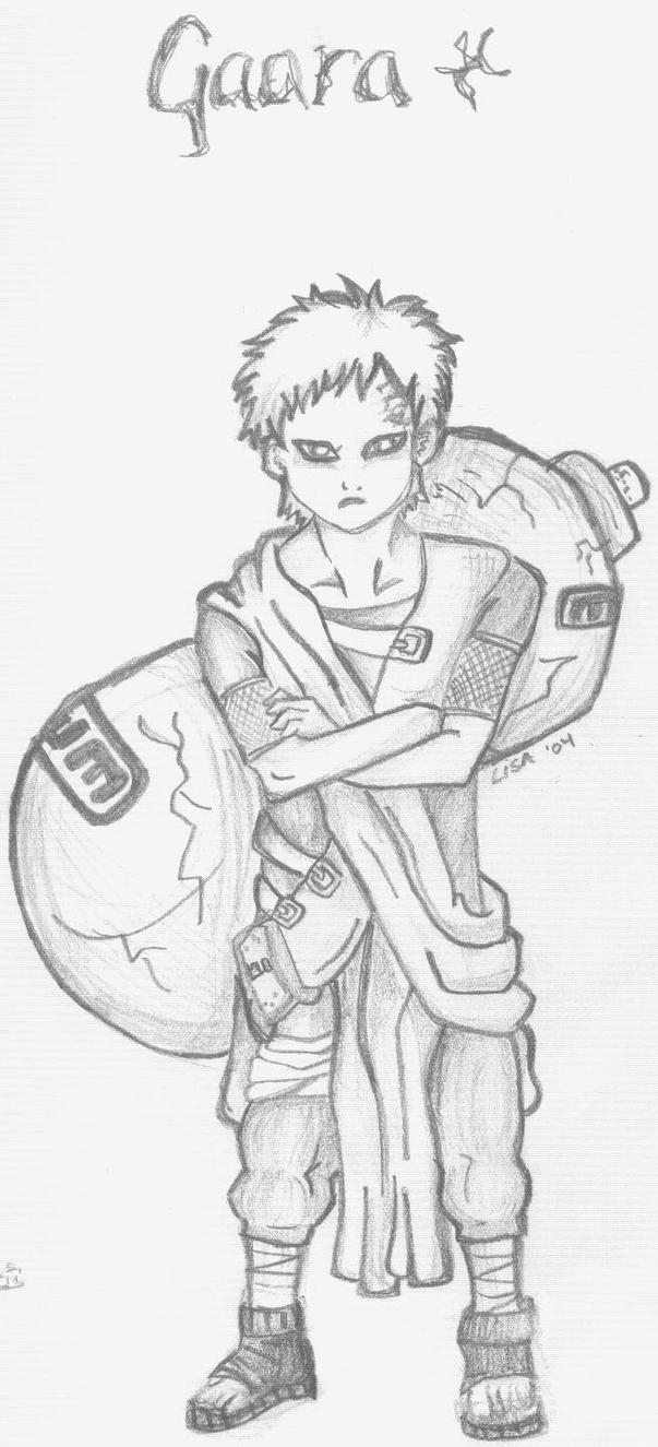 Gaara by spntaneousprose