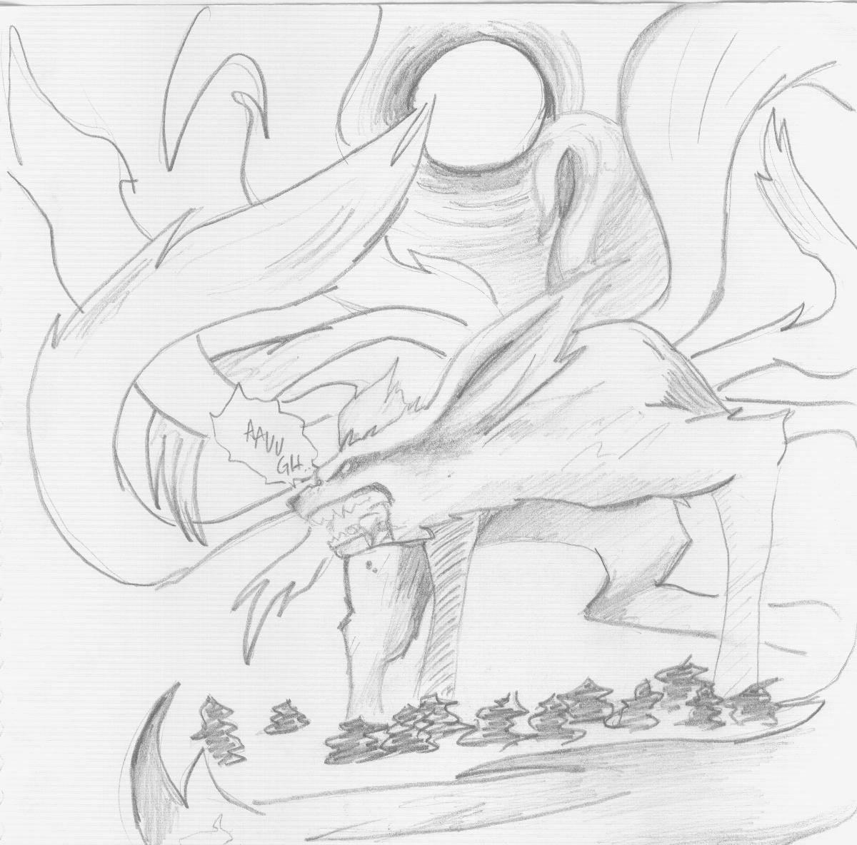 Nine-Tailed Fox Demon By Spntaneousprose On DeviantArt