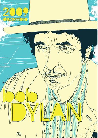 bob dylan by bigabi