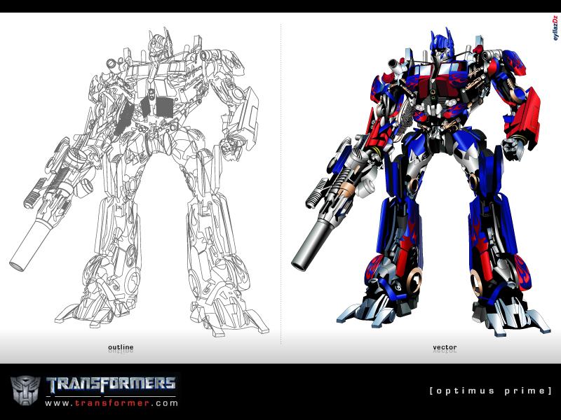 Optimus Prime by eyLLaz