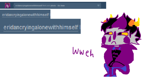 eridan crying alone with himself by HiSii-Kun