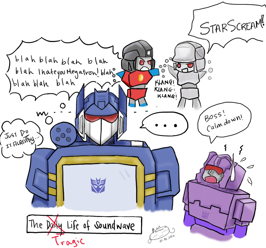 The Daily Life of Third-in-Command, Soundwave by