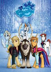 My Little Frozen Movie Wallpaper 2 by NamyGaga